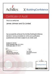 Achilis Certificate