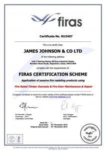Firas Certificate